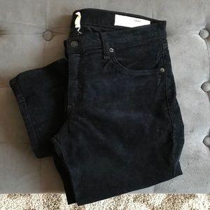 NWOT Rag and Bone black cords-Size 30